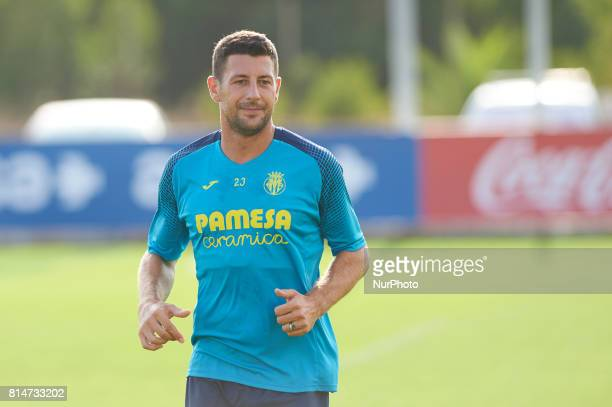 Daniele Bonera during the first week of Villarreal CF training session at Ciudad Deportiva of Miralcamp July 14 in Vilareal Spain