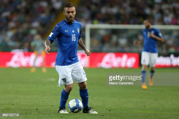 Daniele De Rossi of Italy during the FIFA 2018 World Cup Qualifier match between Italy and Liechtenstein Italy went on to win the match 50