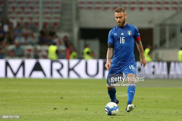 Daniele De Rossi of Italy in action during the international friendly match between Italy and Uruguay Italy wins 30 over Uruguay