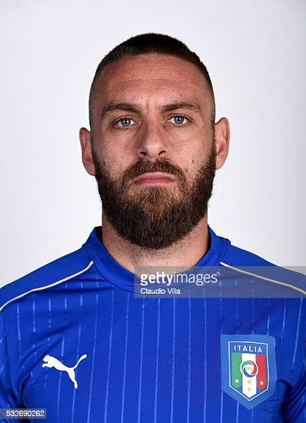 Daniele De Rossi of Italy poses during the official portrait session at Coverciano on May 19 2016 in Florence Italy