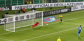 Daniele De Rossi of Italy scores the opening goal during the UEFA EURO 2016 Qualifier match between Italy and Bulgaria on September 6 2015 in Palermo...