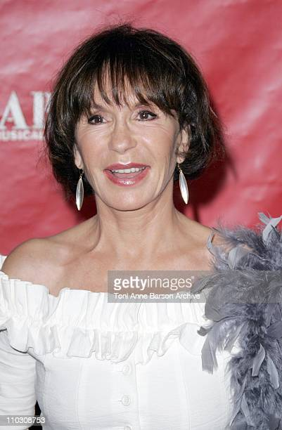 Daniele Evenou during 'Cabaret' Le Musical de Broadway Live Premiere Arrivals at Les Folies Bergeres in Paris France