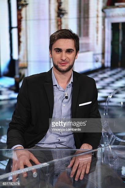 Daniele Garozzo attends 'Che Tempo Che Fa' tv show on January 15 2017 in Milan Italy