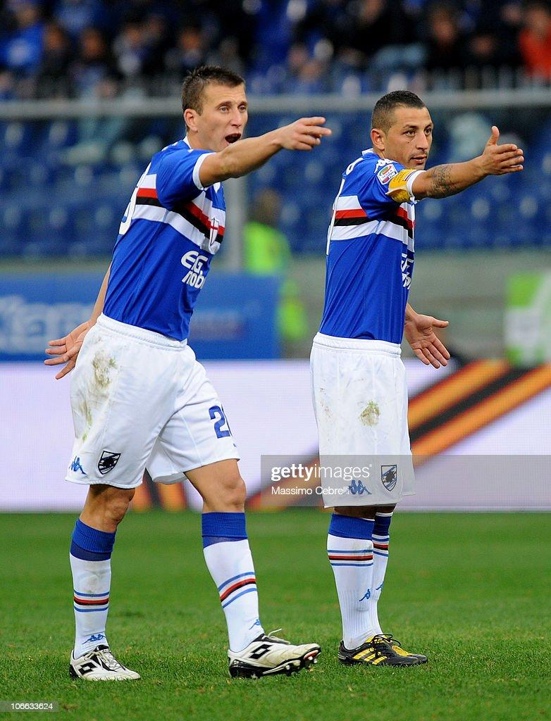 UC Sampdoria v Catania Calcio - Serie A
