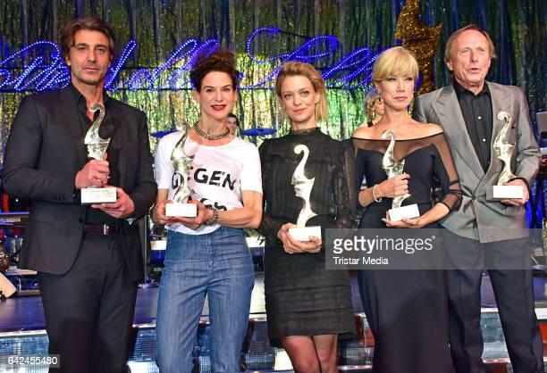 Daniele Liotti Bibiana Beglau Heike Makatsch Nancy Brilli and Claus Theo Gaertner attend the Notte Delle Stelle Premio Bacco At Hotel Maritim During...
