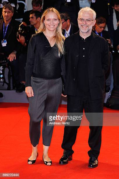Daniele Luchetti and guest attend the Kineo Diamanti Award Ceremony during the 73rd Venice Film Festival on September 4 2016 in Venice Italy
