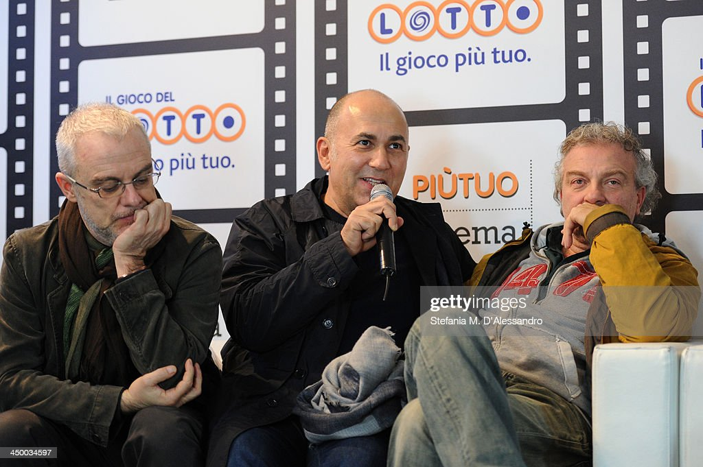 Daniele Luchetti, Ferzan Ozpetek and Giovanni Veronesi attend the Casting Awards Ceremony during the 8th Rome Film Festival at the Auditorium Parco Della Musica on November 16, 2013 in Rome, Italy.