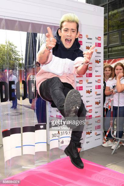 Daniele Negroni during the red carpet arrivals at the VideoDays 2017 at Lanxess Arena on August 24 2017 in Cologne Germany