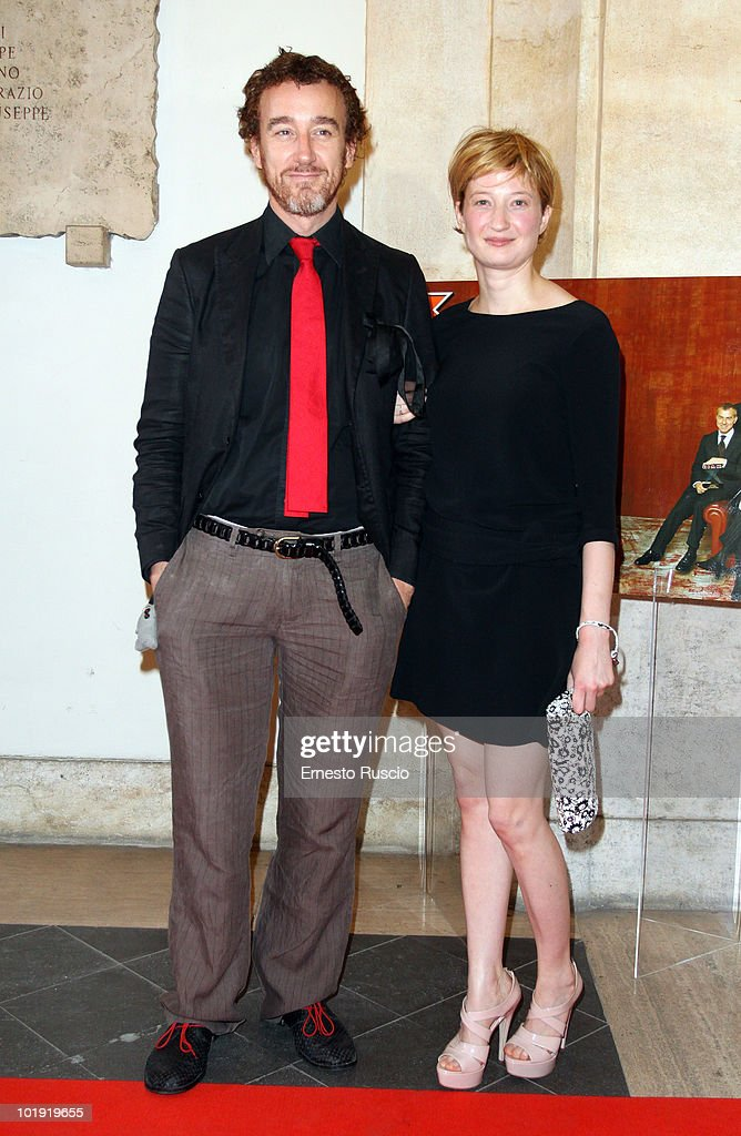 Daniele Orazzi and Alba Rohrwacher attend the 'Ciak D'Oro' awards ceremony at Palazzo Valentini on June 8, 2010 in Rome, Italy.