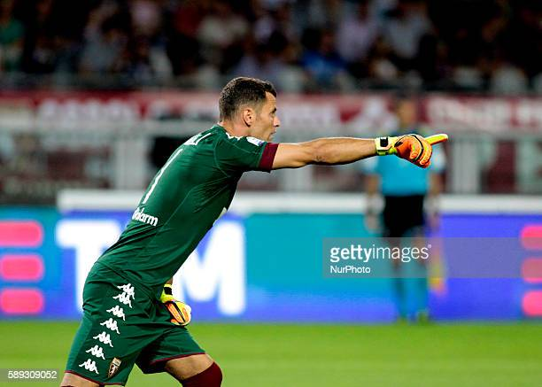 Daniele Padelli during Tim Cup 20162017 match between Torino FC and FC Pro Vercelli at the Olympic Stadium of Turin on august 013 2016 in Torino italy