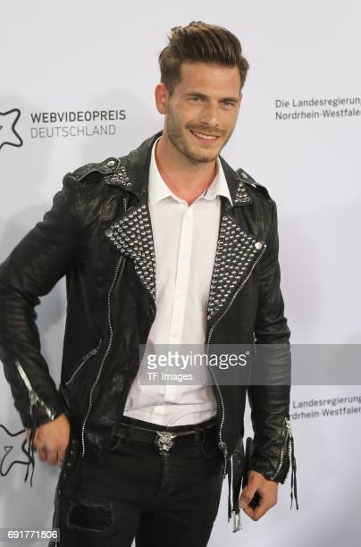 Daniele Rizzo attends the Webvideopreis Deutschland 2017 at ISS Dome on June 1 2017 in Duesseldorf Germany