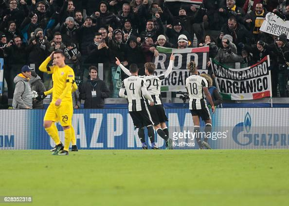 Juventus v GNK Dinamo Zagreb - UEFA Champions League : News Photo