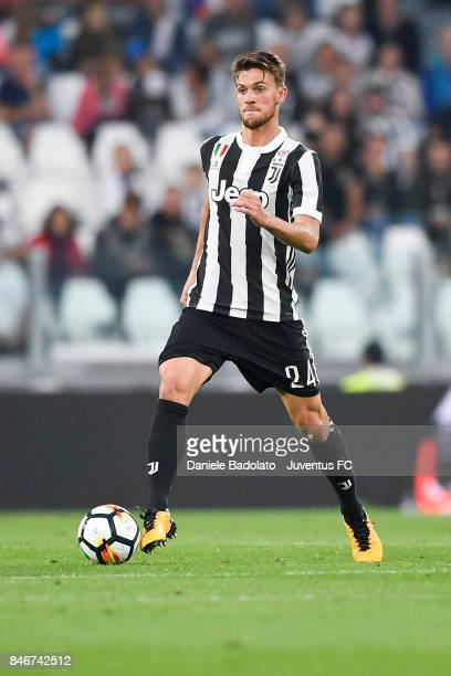 Daniele Rugani during the Serie A match between Juventus and AC Chievo Verona on September 9 2017 in Turin Italy