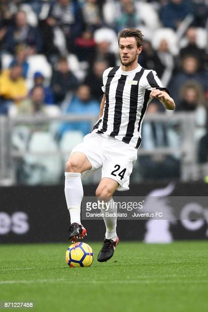 Daniele Rugani during the Serie A match between Juventus and Benevento Calcio on November 5 2017 in Turin Italy