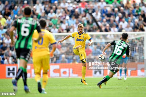 Daniele Rugani during the Serie A match between US Sassuolo and Juventus at Mapei Stadium Citta' del Tricolore on September 17 2017 in Reggio...