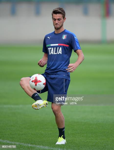 Daniele Rugani of Italy during a training session at Krakow Stadium on June 23 2017 in Krakow Poland