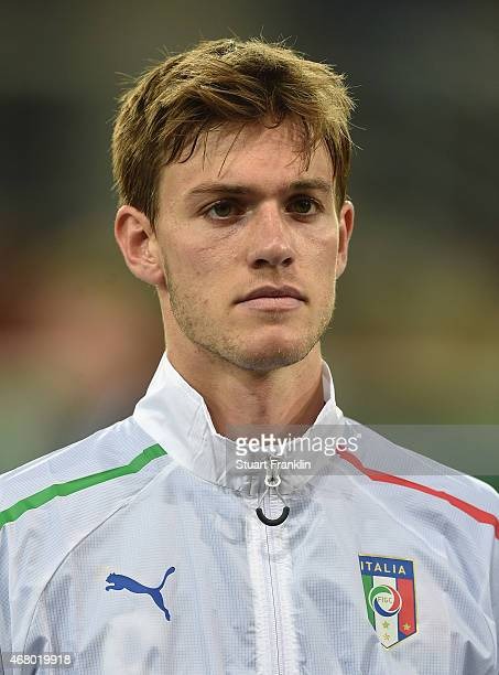 Daniele Rugani of Italy looks on during a U21 International friendly match between U21 Germany and U21 Italy on March 27 2015 in Paderborn Germany