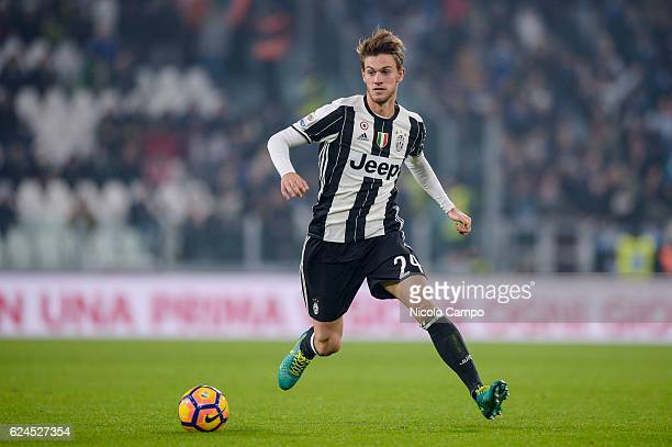 Daniele Rugani of Juventus FC in action during the Serie A football match between Juventus FC and Pescara Calcio