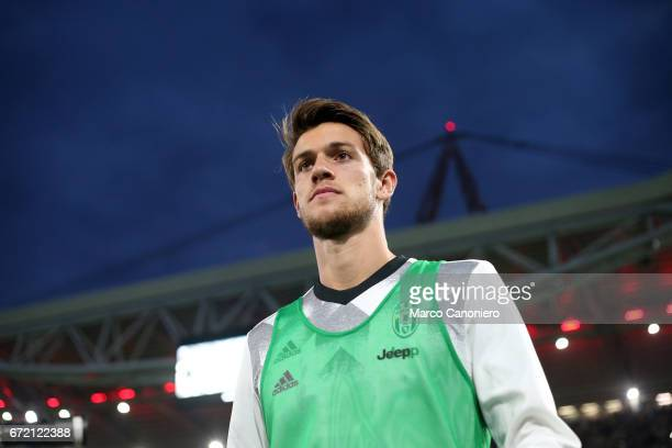 Daniele Rugani of Juventus FC looks on before the Serie A football match between Juventus FC and Genoa Fc Juventus Fc wins 40 over Genoa Fc