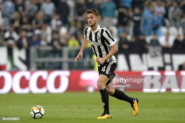 Daniele Rugani of Juventus in action during the Serie A match between Juventus and AC Chievo Verona on September 9 2017 in Turin Italy