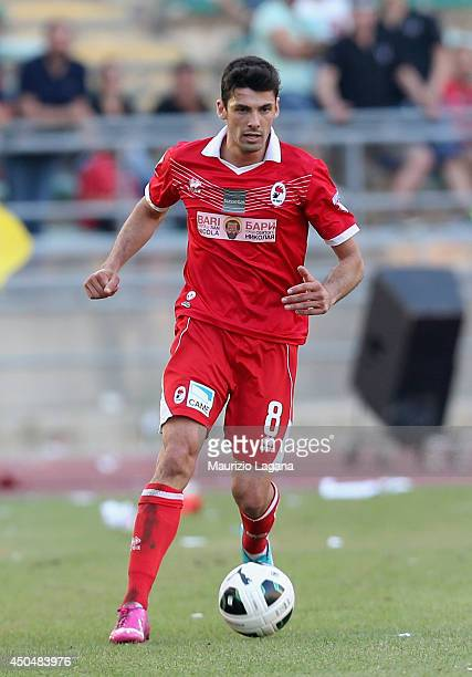 Daniele Sciaudone of Bari during the Serie B playoff match between AS Bari and US Latina at Stadio San Nicola on June 8 2014 in Bari Italy