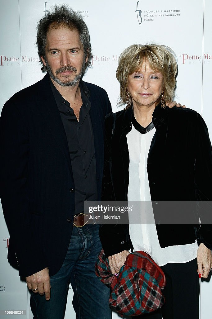 Daniele Thompson and her son Christopher attend 'La Petite Maison De Nicole' Inauguration Photocall at Hotel Fouquet's Barriere on January 21, 2013 in Paris, France.