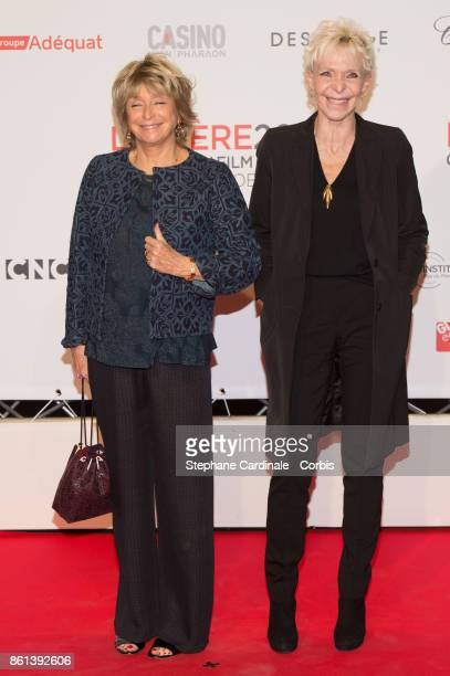 Daniele Thompson and Tonie Marshall attend the Opening Ceremony of the 9th Film Festival Lumiere on October 14 2017 in Lyon France