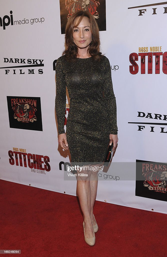 Daniell Rayne attends 'Stitches' - Los Angeles Premiere at Cinespace on April 1, 2013 in Los Angeles, California.