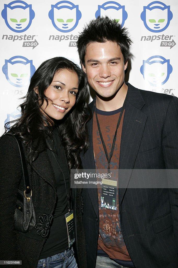 Daniella Alonso and michael copon
