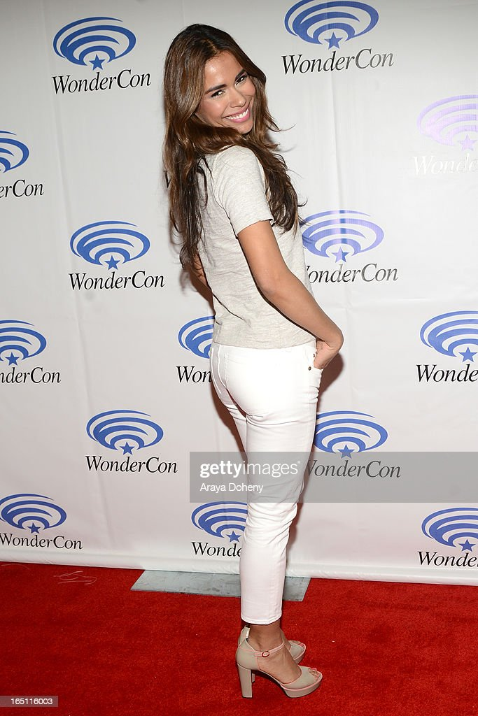 Daniella Alonso attends WonderCon Anaheim 2013 - Day 2 at Anaheim Convention Center on March 30, 2013 in Anaheim, California.