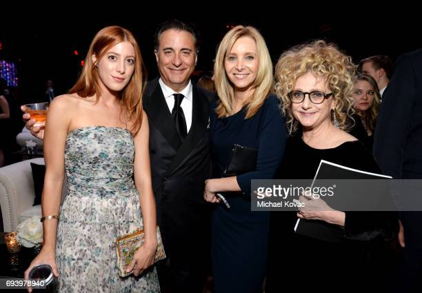 Daniella GarciaLorido Actor Andy Garcia Actor Lisa Kudrow and Actor Carol Kane attend the after party for American Film Institute's 45th Life...