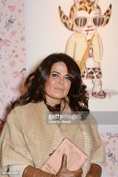 Daniella Helayel attends the Coach X Serpentine The Future Contemporaries Party at The Serpentine Sackler Gallery on February 21 2015 in London...
