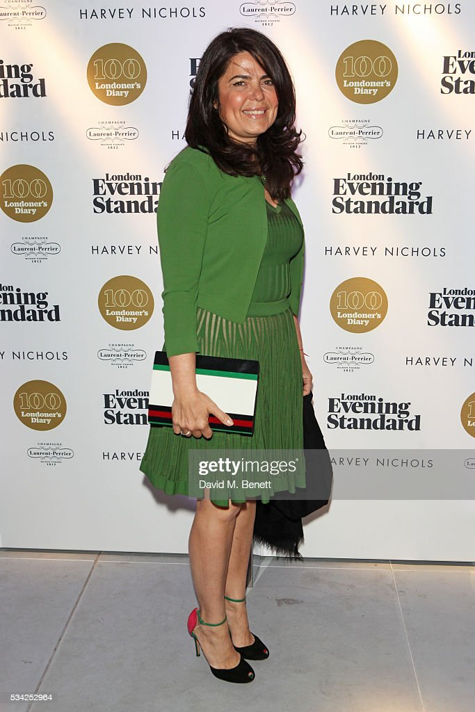 Daniella Helayel attends the London Evening Standard Londoner's Diary 100th Birthday Party in partnership with Harvey Nichols at Harvey Nichols on May 25, 2016 in London, England.