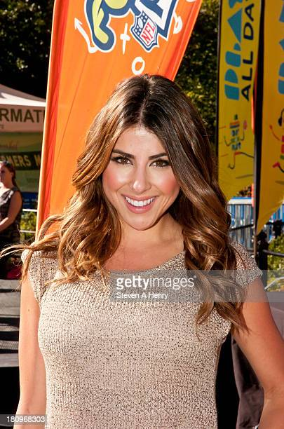 Daniella Monet attends the 10th annual Worldwide Day of Play fitness themed event at Union Square on September 18 2013 in New York City