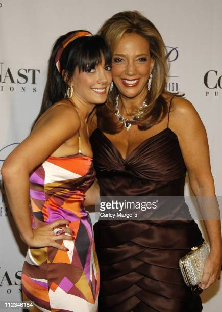 Daniella Rich and Denise Rich during The GP Foundation for Cancer Research 4th Annual Angel Ball at Marriott Marquis in New York City New York United...