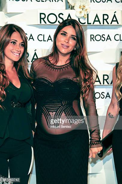 Daniella Semaan attends the Rosa Clara fashion show during 'Barcelona Bridal Week 2015' on May 5 2015 in Barcelona Spain