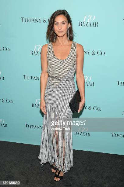 Daniella Snyder attends Harper's BAZAAR 150th Anniversary Event presented with Tiffany Co at The Rainbow Room on April 19 2017 in New York City