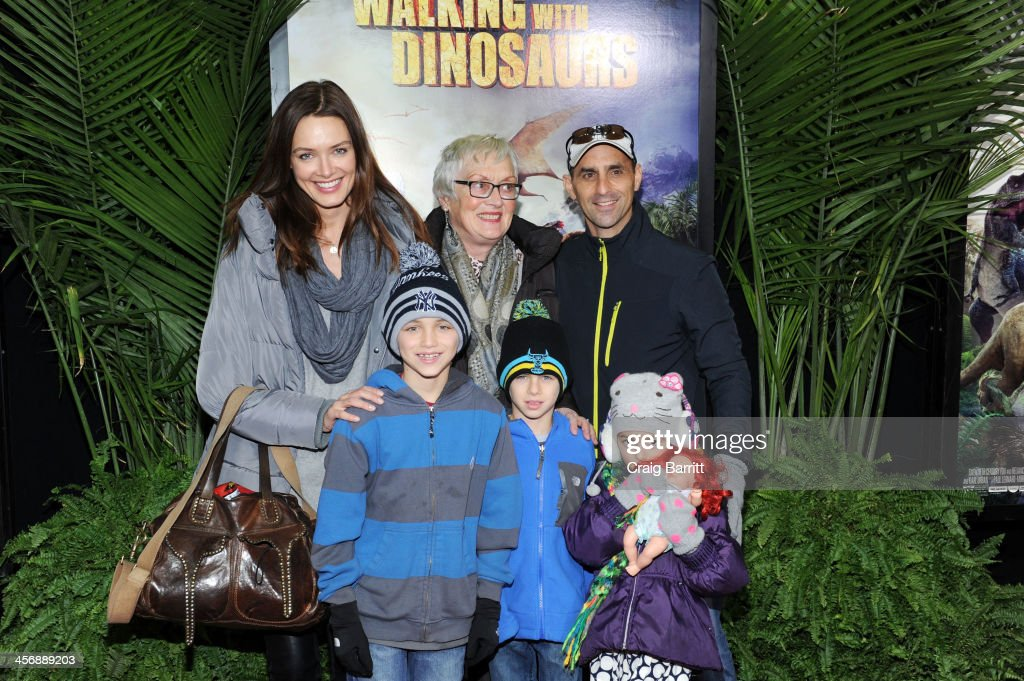 Daniella Van Graas the 'Walking With Dinosaurs' screening at Cinema 1, 2 & 3 on December 15, 2013 in New York City.
