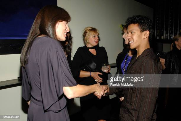 Daniella Vitale and Irlan Santos da Silva attend Private Dinner in Honor of the 2008 GUCCI Tribeca Documentary Fund Recipients at Craft Restaurant on...