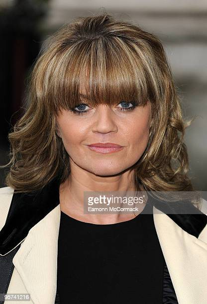 Daniella Westbrook attends the Woman's Own Children Of Courage Award at Westminster Abbey on December 9 2009 in London England