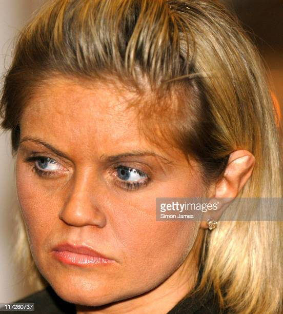 Daniella Westbrook during Daniella Westbrook at the Professional Beauty Show – Photocall at ExCel in London Great Britain