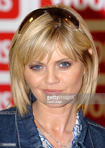 Daniella Westbrook during Daniella Westbrook Signs Her Book 'Other Side of Nowhere' at Woolworths in Essex March 30 2006 at Woolworths in Essex Great...