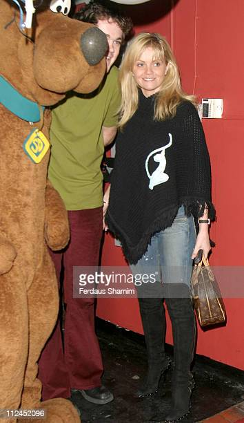 Daniella Westbrook during Scooby Doo Halloween Party at Rex Cinema in London Great Britain