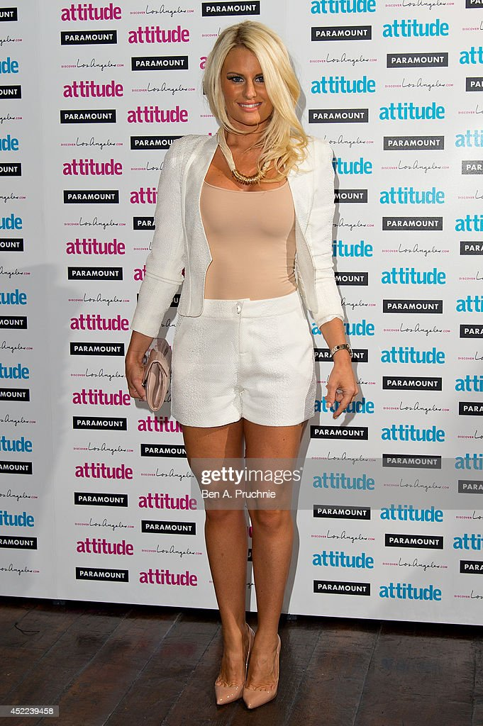 <a gi-track='captionPersonalityLinkClicked' href=/galleries/search?phrase=Danielle+Armstrong&family=editorial&specificpeople=12545002 ng-click='$event.stopPropagation()'>Danielle Armstrong</a> attends the Attitude Magazine Hot 100 party at Paramount Club on July 16, 2014 in London, England.