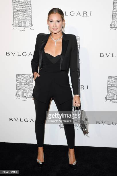 Danielle Bernstein attends a party to celebrate the Bvlgari Flagship Store Reopening on October 20 2017 in New York City