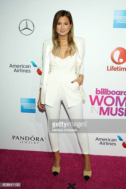 Danielle Bernstein attends Billboard Women In Music 2016 on December 9 2016 in New York City