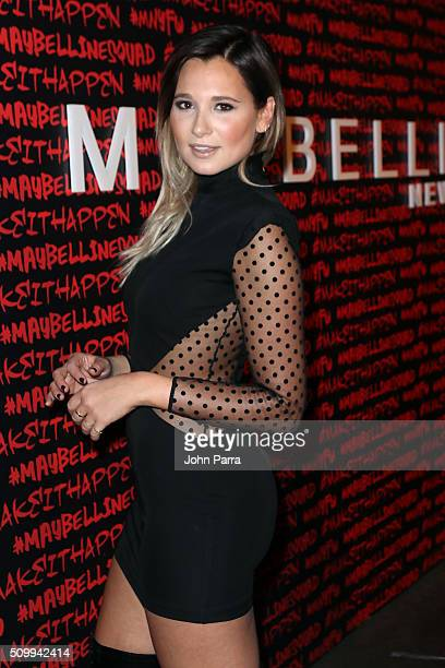 Danielle Bernstein attends Maybelline New York celebrates fashion week at Dream Downtown Hotel on February 12 2016 in New York City