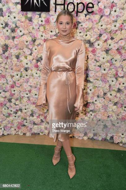 Danielle Bernstein attends the 2017 Spirit Of Life Award Luncheon Fashion Show at The Plaza Hotel on May 8 2017 in New York City