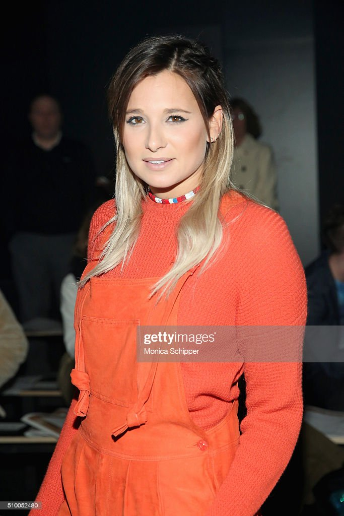 Danielle Bernstein attends the Baja East Fall 2016 fashion show during New York Fashion Week: The Shows at The Dock, Skylight at Moynihan Station on February 13, 2016 in New York City.