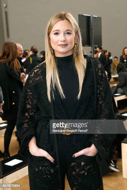 Danielle Bernstein attends the Nina Ricci show as part of the Paris Fashion Week Womenswear Fall/Winter 2017/2018 on March 4 2017 in Paris France